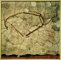 E.Schiele, Herbstbaum in bewegter Luft von AKG  Images