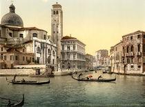 Venedig, S.Geremia u.Palazzo Labia von AKG  Images