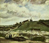 V.van Gogh, Steinbruch auf Montmartre von AKG  Images