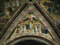 Giotto, Allegorie der Armut von AKG  Images