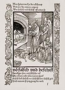 Brant, Narrenschiff / Holzschn.v.Duerer by AKG  Images