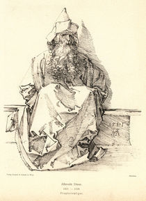 A.Duerer, Sitzender baertiger Mann von AKG  Images