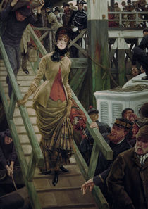J.Tissot, Einschiffung in Calais by AKG  Images