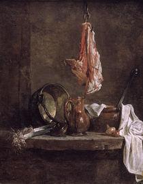 Chardin, Stilleben mit Fleischstuecken von AKG  Images