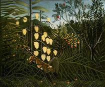 H.Rousseau, Im tropischen Wald von AKG  Images