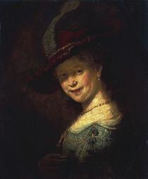 Rembrandt, Saskia als Maedchen by AKG  Images
