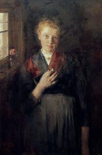 W.Leibl, Maedchen am Fenster von AKG  Images