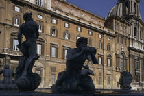 Rom, Fontana del Moro / Foto von AKG  Images