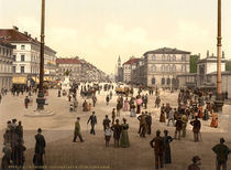 Muenchen, Ludwigstrasse / Photochrom by AKG  Images