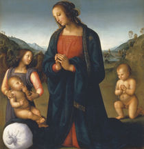 Perugino, Madonna del Sacco by AKG  Images