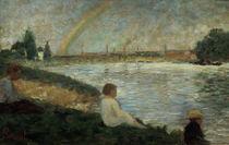 G.Seurat, Der Regenbogen by AKG  Images