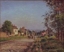 C.Pissarro, Umgebung von Louveciennes von AKG  Images