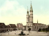Braunschweig/St. Katharinen u.Hagenmarkt by AKG  Images