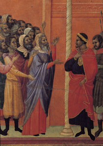 Duccio, Christus wird Pilatus ueberantw. von AKG  Images