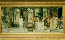 L.Alma Tadema, Fest der Weinlese by AKG  Images