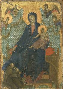 Duccio, Maria mit Kind u.Franziskanern von AKG  Images