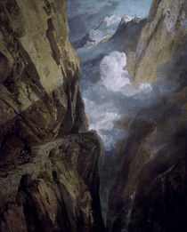 William Turner, Der St. Gotthard Pass by AKG  Images