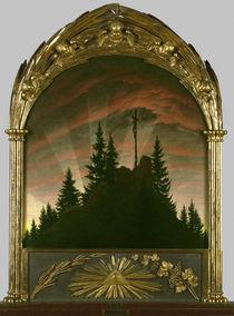 C.D.Friedrich, Kreuz im Gebirge von AKG  Images