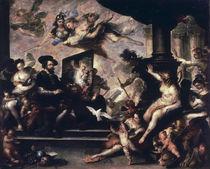 Rubens malt Allegorie / Luca Giordano by AKG  Images