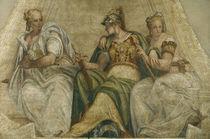 Veronese, Minerva mit Geometrie u.Arith. by AKG  Images