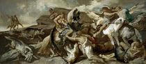 A.Feuerbach, Amazonen auf Wolfsjagd von AKG  Images