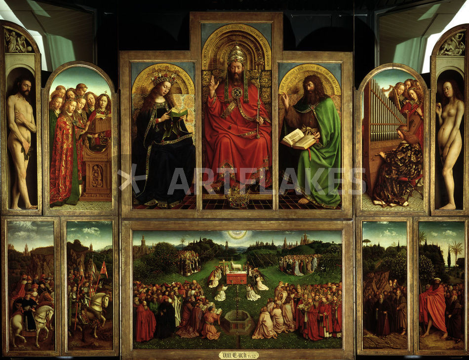 jan and hubert van eyck paintings