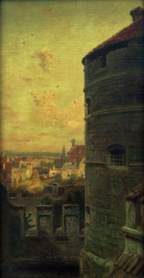 Rothenburg, Faulturm / Gem.v.Spitzweg by AKG  Images