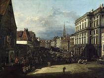 Wien, Mehlmarkt / Bellotto by AKG  Images