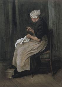 v.Gogh, Scheveninger Naeherin von AKG  Images