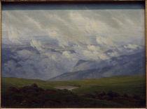 C.D.Friedrich, Ziehende Wolken by AKG  Images
