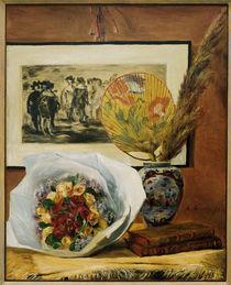 A.Renoir, Stilleben mit Bukett u.Faecher by AKG  Images