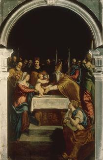 Tintoretto, Darstellung im Tempel von AKG  Images