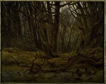 C.D.Friedrich, Wald im Spaetherbst/1835 von AKG  Images