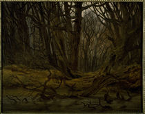 C.D.Friedrich, Wald im Spaetherbst/1835 by AKG  Images