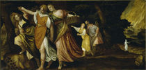 Veronese, Lot und Toechter fliehen.. by AKG  Images