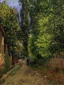 A.Sisley, Umgebung von Louveciennes von AKG  Images