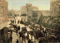 Jerusalem, Suekat Allan / Photochrom von AKG  Images