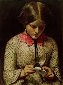 J.E.Millais, The Violet's Message von AKG  Images