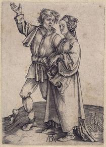 A.Duerer, Der Bauer und seine Frau / 1495 by AKG  Images