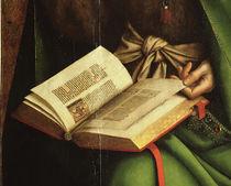 J.v.Eyck, Genter Altar, Johannes, Det. by AKG  Images