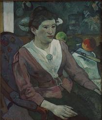 P.Gauguin, Frau vor Stilleben Cezannes von AKG  Images