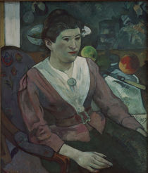 P.Gauguin, Frau vor Stilleben Cezannes by AKG  Images