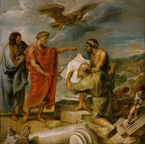 Gruendung Konstantinopel / Gem. v. Rubens von AKG  Images