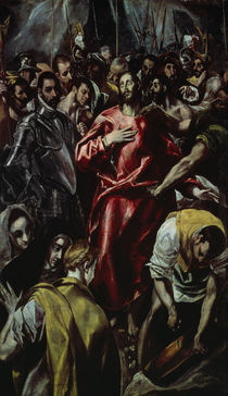 El Greco, Entkleidung Christi by AKG  Images