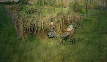C.Larsson, Das Maedchen im Gruenen by AKG  Images