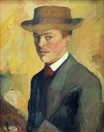 August Macke, Selbstportraet 1909 von AKG  Images