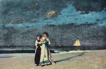 Winslow Homer, Spaziergang am Strand by AKG  Images