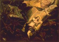 Tintoretto, Hl.Katharina unterm Rad von AKG  Images