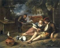 J.Steen, Allegorie der Liebe by AKG  Images