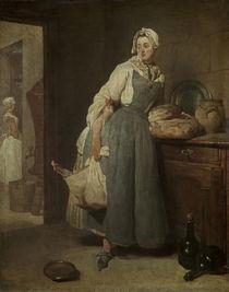 J.B.S.Chardin, Die Botenfrau/ 1739 von AKG  Images
